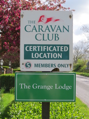 The Grange CL sign